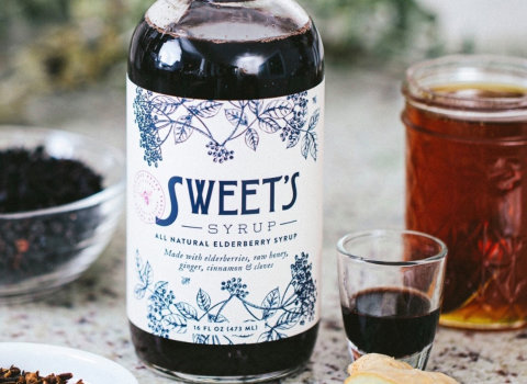 sweet syrup